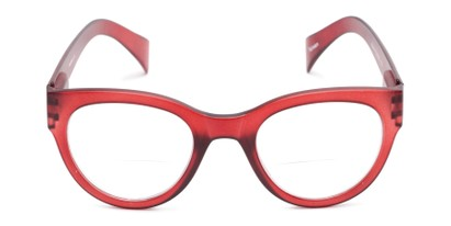 Front of The Maren Bifocal in Dark Matte Red