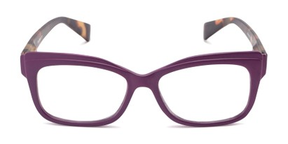 Front of The Melody in Purple/Tortoise