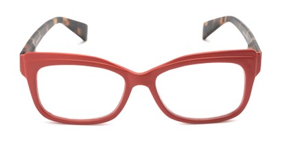 Front of The Melody in Red/Tortoise