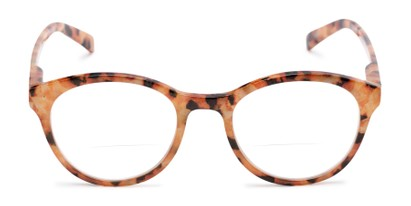 Front of The Merlot Bifocal in Orange Tortoise