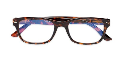 Folded of The Millard Multifocal Reader in Dark Tortoise