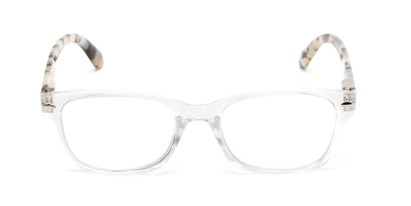 Front of The Millard Multifocal Reader in Clear/Tortoise