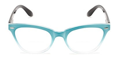 Front of The Mya Bifocal in Blue Fade/Black