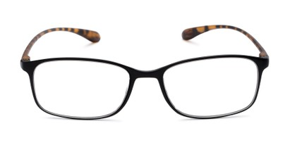 Front of The Neptune in Black/Tortoise