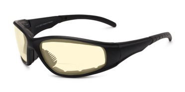 345c1c609c7 Angle of The Night Driver Bifocal EVA Safety Goggles in Black with Yellow