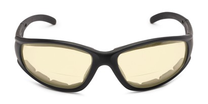 Front of The Night Driver Bifocal EVA Safety Goggles  in Black with Yellow