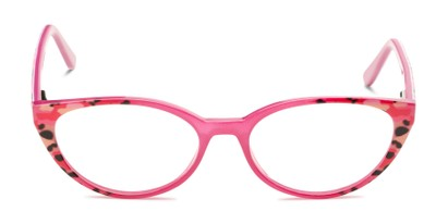Front of The Nina - Foster Grant for Readers.com in Berry Pink Tortoise