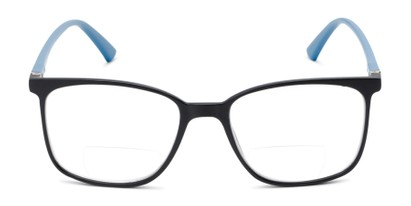 Front of The Nola Bifocal in Black/Blue