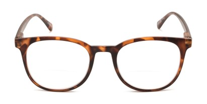 Front of The Norwich Bifocal in Matte Brown Tortoise