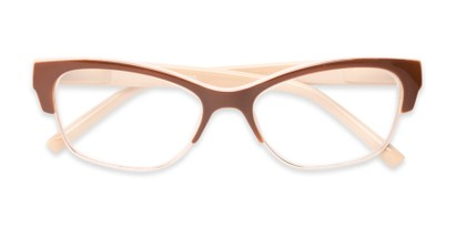 womens browline cateye reader