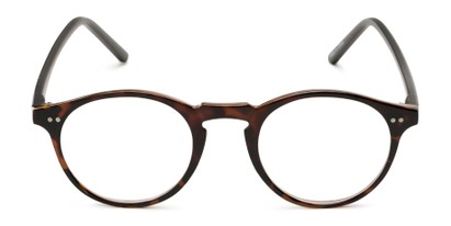keyhole round retro cheater glasses