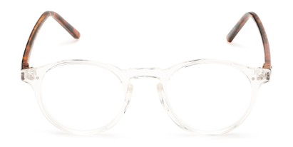 Front of The Ormand in Clear/Brown Tortoise