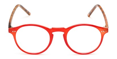 Front of The Ormand in Red/Matte Brown Tortoise