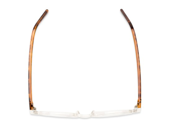 Overhead of The Ormand in Clear/Brown Tortoise