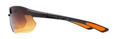 Side of The Outback Driving Bifocal Reading Sunglasses in Black/Orange with Amber