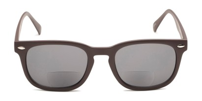 Front of The Patio Bifocal Reading Sunglasses in Grey
