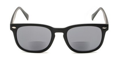 Front of The Patio Bifocal Reading Sunglasses in Matte Black