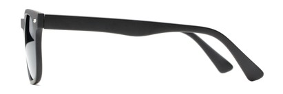 Side of The Patio Bifocal Reading Sunglasses in Matte Black
