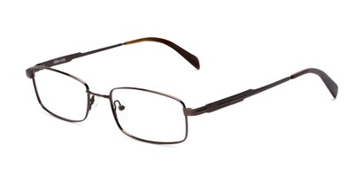 Angle of Patton by felix + iris in Brown, Women's and Men's Rectangle Reading Glasses