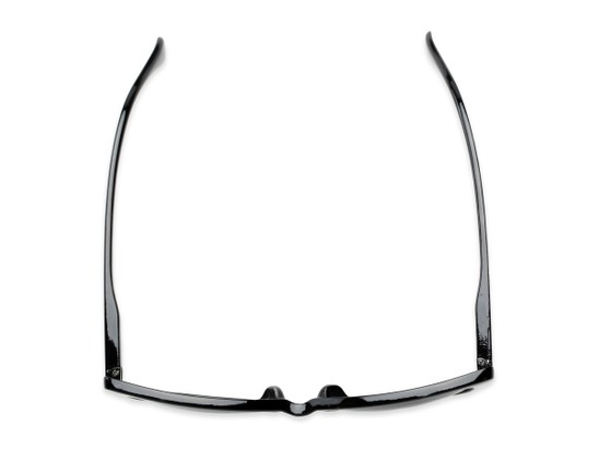 Overhead of The Picnic Bifocal Reading Sunglasses in Black with Smoke