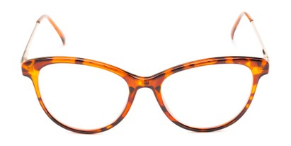 Front of The Cosette in Tortoise/Gold
