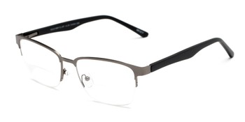 5381377390 Angle of The Polk Bifocal in Grey Black