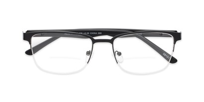 semi rimless browline bifocal