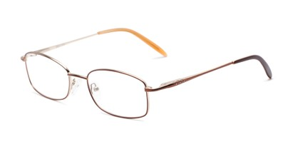 Angle of Pomander by felix + iris in Brown/Tan, Women's Rectangle Reading Glasses