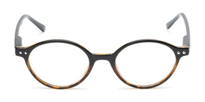 trendy round reading glasses