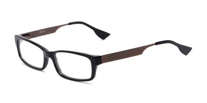 Angle of Prospect by felix + iris in Black/Brown, Women's and Men's Rectangle Reading Glasses
