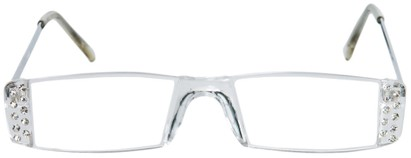 Rhinestone Rimless Reading Glasses