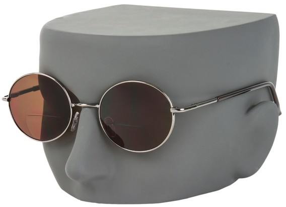 Round Bifocal Sunglasses