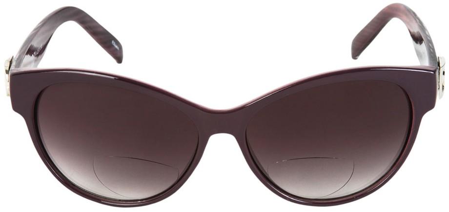 oversized cat eye reading sunglasses