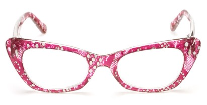 Snakeskin Print Reading Glasses