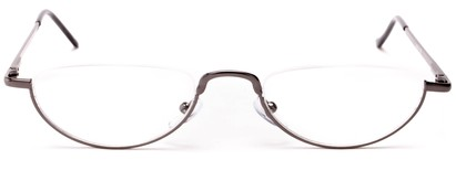 semi rimless half moon reader