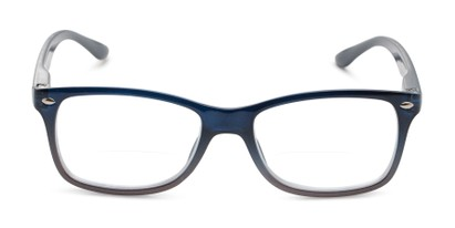 Front of The Aldgate Bifocal in Navy Blue Fade