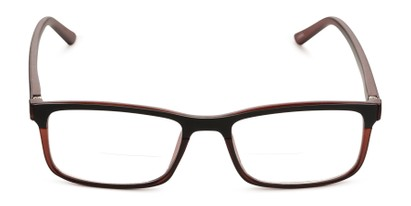 Front of The Andrew Bifocal in Brown/Black