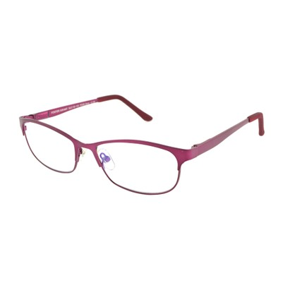 Angle of The Shira Blue Light e.Readers in Berry Pink, Women's Cat Eye Computer Glasses