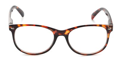Front of The Billy Blue Light Reader in Brown Tortoise