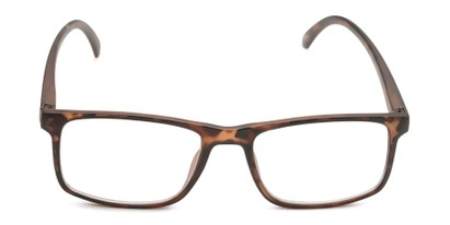 Front of The Brixton Bifocal in Matte Tortoise