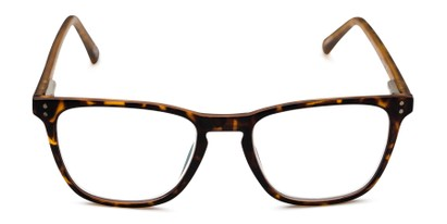 Front of The Camden Multi Focus Reader by Foster Grant in Tortoise
