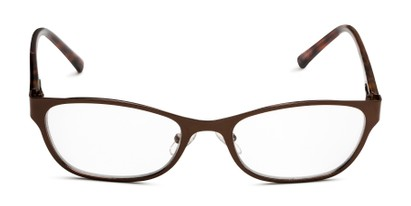 Front of The Charlsie Multi Focus Reader by Foster Grant in Brown/Tortoise