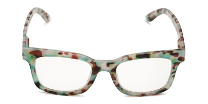 Front of The Collegiate in Green Tortoise