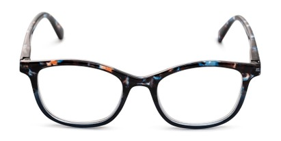 Front of The Bonnie in Blue Multi Tortoise