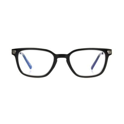 Front of The Nathan Computer Glasses in Black