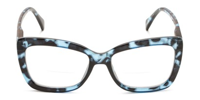 Front of The Kendra Bifocal in Blue Tortoise