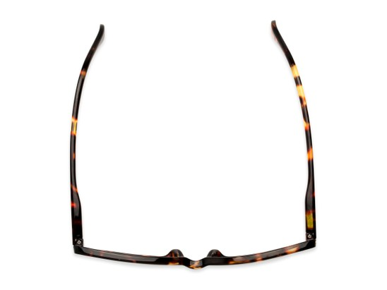 Overhead of The Kendra Bifocal in Brown Tortoise