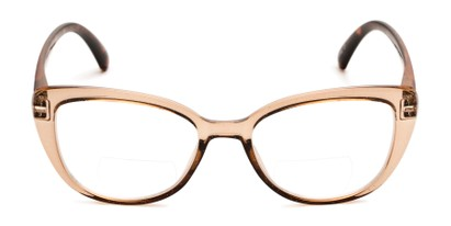 Front of The Lesley Bifocal in Tan/Tortoise