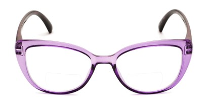 Front of The Lesley Bifocal in Purple/Tortoise