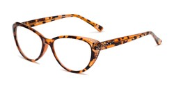 Angle of The Marisol in Tortoise, Women's Cat Eye Reading Glasses